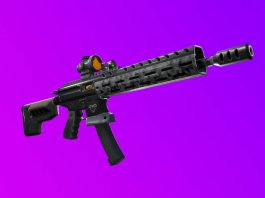 Fortnite v9.01 patch notes Tactical Assault Rifle